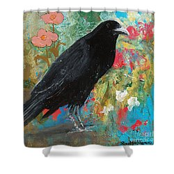 Mystery At Every Turn Shower Curtain by Robin Maria Pedrero