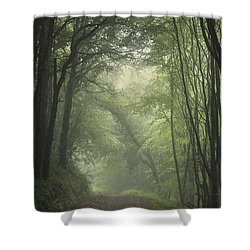 Mystery Awakens Shower Curtain