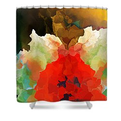 Mystic Bloom Shower Curtain by David Lane