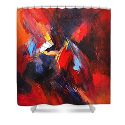 Mystic Image Shower Curtain by Glory Wood