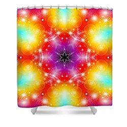 Mystic Karma Shower Curtain