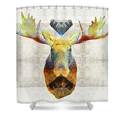Mystic Moose Art By Sharon Cummings Shower Curtain