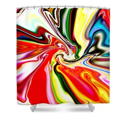 Mystic Orient Shower Curtain