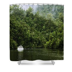 Mystic River Shower Curtain