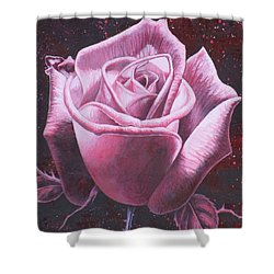 Mystic Rose Shower Curtain
