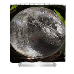 Mystical Crystal Sphere Shower Curtain