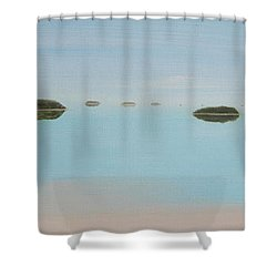 Mystical Islands Shower Curtain by Tim Mullaney