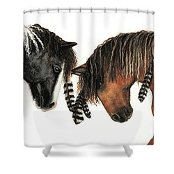 Mustang Series 37 Shower Curtain by AmyLyn Bihrle