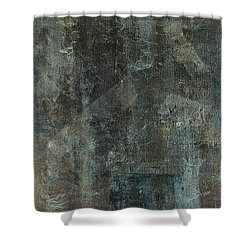Paper Trails Shower Curtain