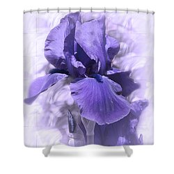 Nancy Shower Curtain by Elaine Teague