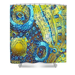Nanogram Shower Curtain