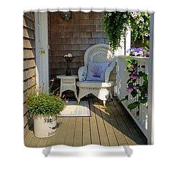 Nantucket Porch Shower Curtain