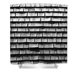 Nantucket Shingles Shower Curtain