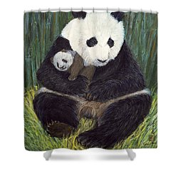 Nap Time Shower Curtain by Komi Chen