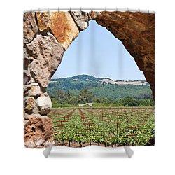 Napa Vineyard Shower Curtain