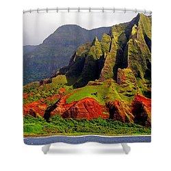 Napali Coast II Shower Curtain