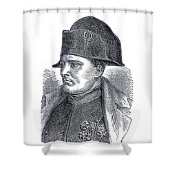 Napoleon Bonaparte  Shower Curtain