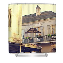 Napoleon Corner Shower Curtain