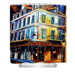 Napoleon House Shower Curtain by Diane Millsap