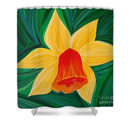 Narcissus Diva By Jrr Shower Curtain by First Star Art