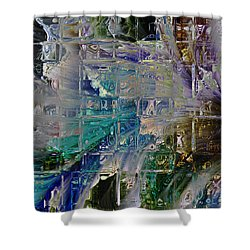 Narrative Splash Shower Curtain by Richard Thomas