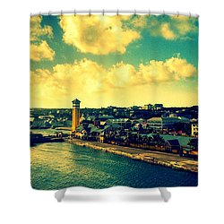 Nassau The Bahamas Shower Curtain
