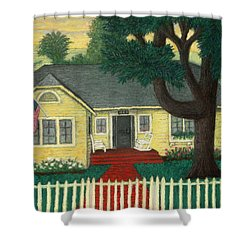 Nate's Place Shower Curtain