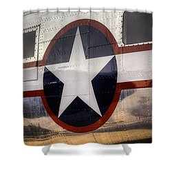 National Aircraft Insignia Shower Curtain