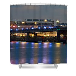 Shower Curtain featuring the photograph Nationals Park by Jerry Gammon