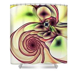 Natural Shower Curtain by Anastasiya Malakhova