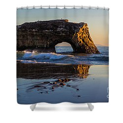 Natural Bridge Shower Curtain by Suzanne Luft