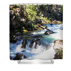 Natural Bridges Shower Curtain by Melanie Lankford Photography
