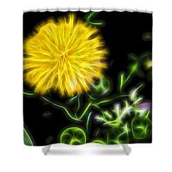 Natural Electric Beauty Shower Curtain