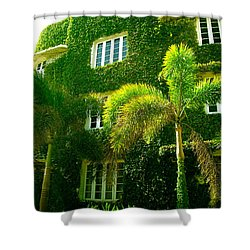 Natural Ivy House Shower Curtain