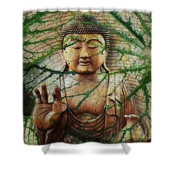 Natural Nirvana Shower Curtain