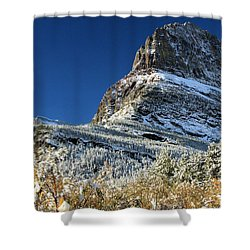 Natural Picture Frame Shower Curtain by Adam Jewell