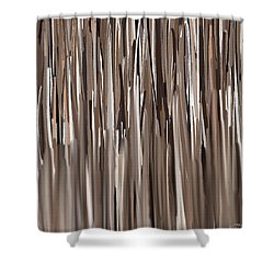 Naturally Brown Shower Curtain by Lourry Legarde