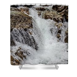 Naturally Pure Waterfall Shower Curtain