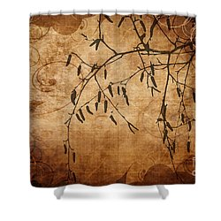 Nature Canvas  Shower Curtain by Andrea Kollo