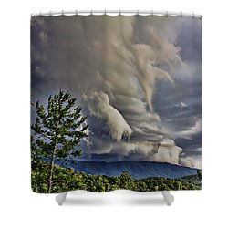 Nature Showing Off Shower Curtain