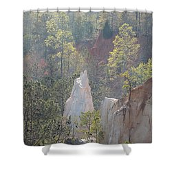 Nature Struggles Shower Curtain by Kim Pate