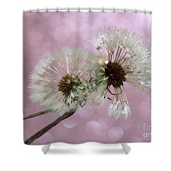 Nature Wish Shower Curtain by Krissy Katsimbras