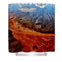 Shower Curtain featuring the photograph Natureprint by Benjamin Yeager