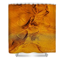 Natures Abstract Shower Curtain by Blair Stuart