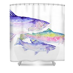 Natures Artwork Shower Curtain by Pat Saunders-White