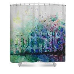 Natures Blend Shower Curtain by Chrisann Ellis