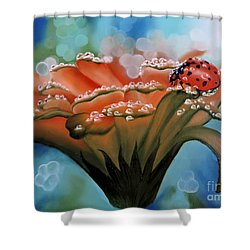 Natures Blessings Shower Curtain by Dianna Lewis