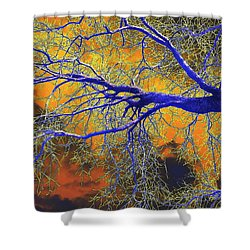 Natures Brewing A Frightful Stew Shower Curtain
