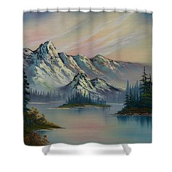 Nature's Elegance Shower Curtain by C Steele