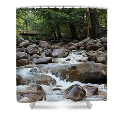 Nature's Flow  Shower Curtain